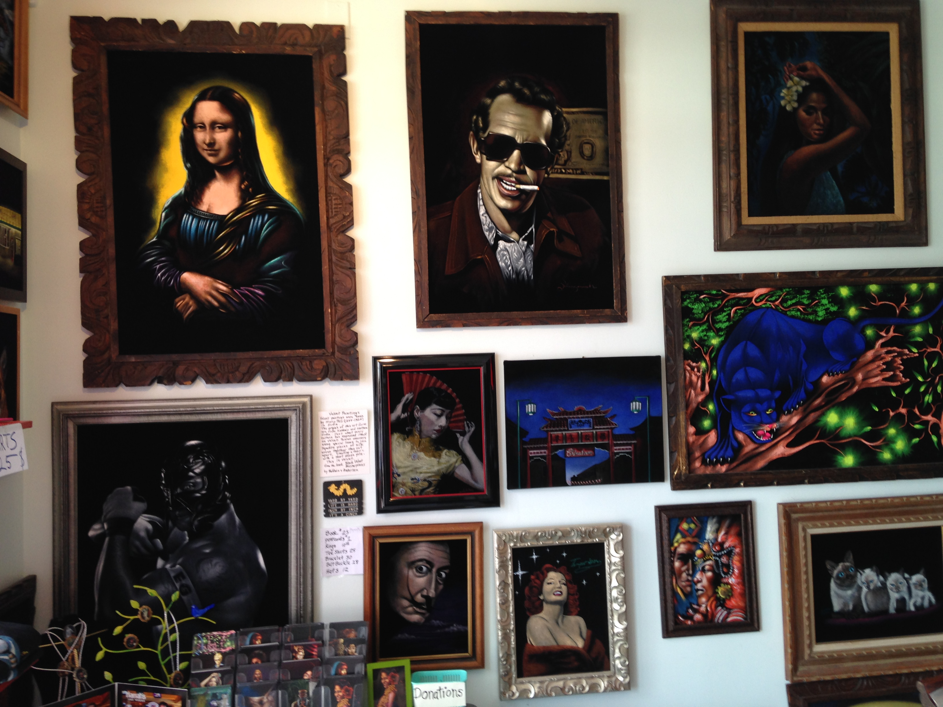 The velveteria art and pop culture gone the velvet route imported like a fine beer from portland oregon the velveteria has recently found local love amongst the other weird museums of los angeles solutioingenieria Gallery